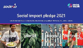 Sodexo launches 2021 Social Impact Pledge